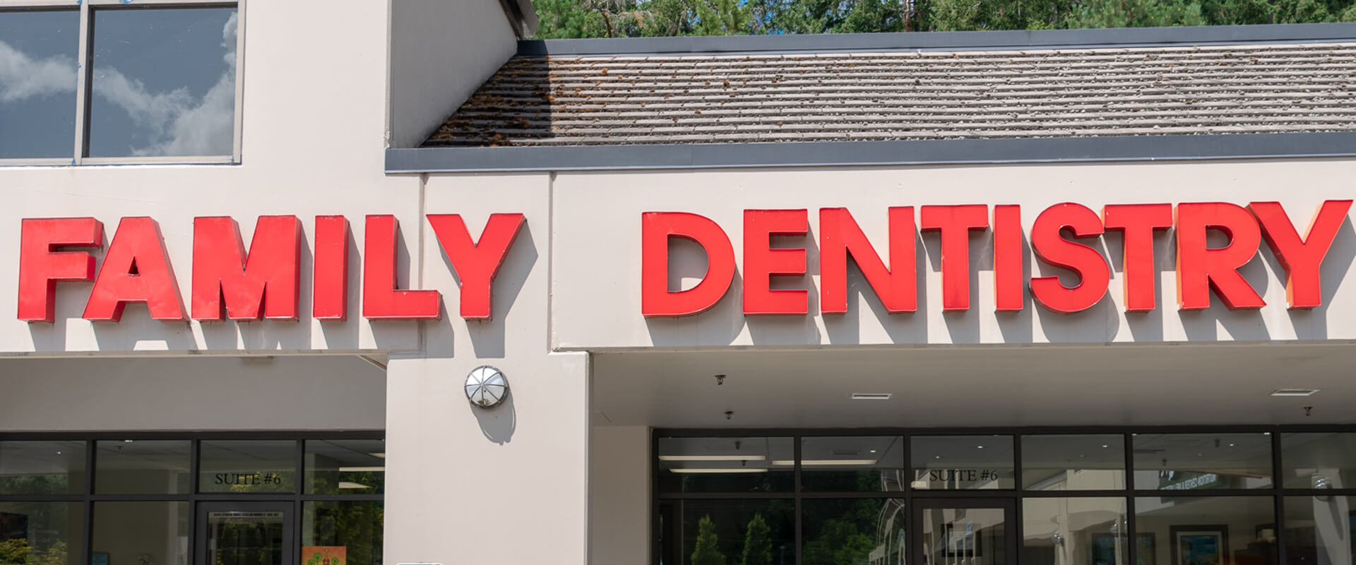 Cottage Lake Family dentistry sign